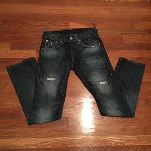 Dark Blue True Religion Jeans